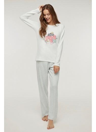Penti Pet Love Termal Pijama Takımı Renkli